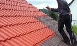 dak coaten van oranje naar antraciet